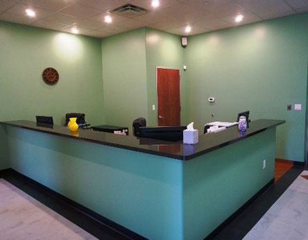 Doctor's Office Front Desk